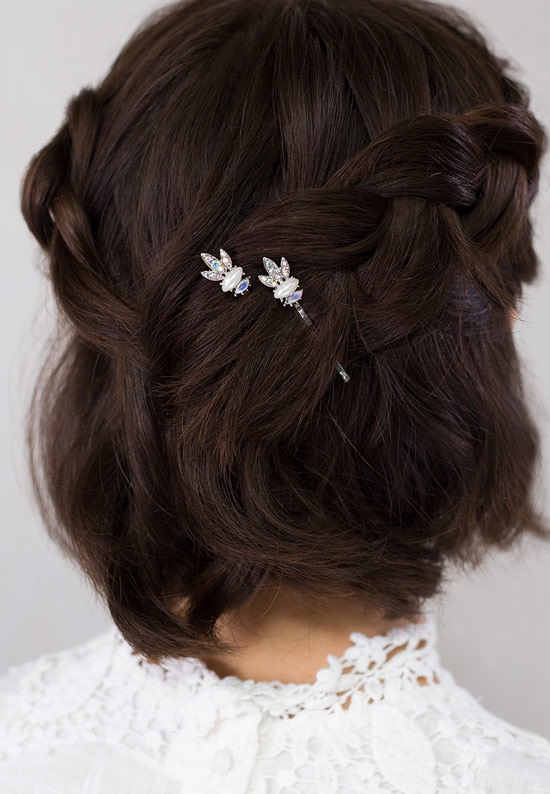 sparkley lilla rose bobby pins