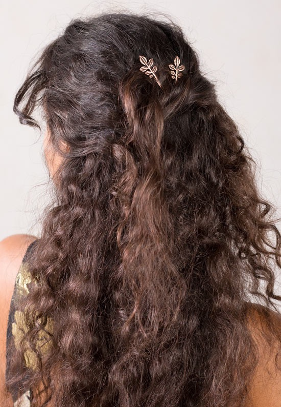 lilla rose bobby pins in curly hair